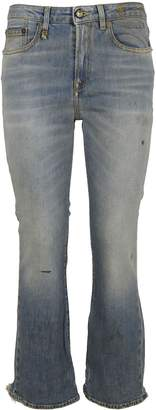 R 13 Cropped Jeans