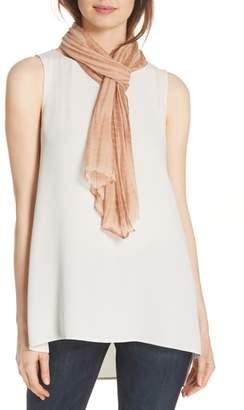 Eileen Fisher Tie Dye Crinkle Silk Scarf