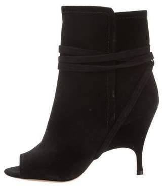 PeepToe Alchimia Di Ballin Peep-Toe Ankle Boots