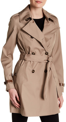 Via Spiga Double Breasted Trench Coat $229 thestylecure.com