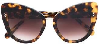 Stella McCartney Eyewear leopard cat-eye sunglasses