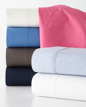 Ralph Lauren Home Twin 464 Thread Count Percale Fitted Sheet