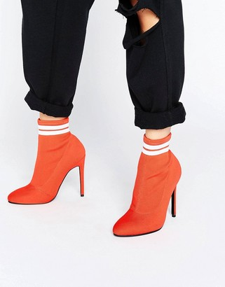 Asos Ekron Elastic Sock Boots