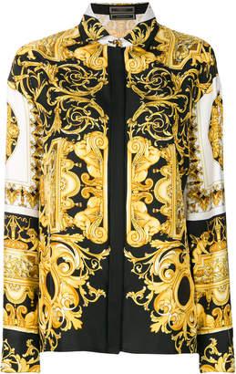 Versace Barocco-print shirt