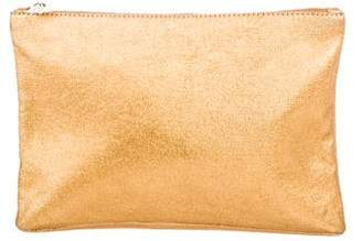 Charlotte Olympia Metallic Zip Pouch