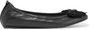 Lanvin - Leather Ballet Flats - Black $595 thestylecure.com