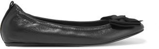Lanvin - Leather Ballet Flats - Black $595 thestylecure.com