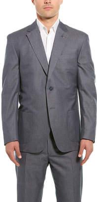 Michael Bastian Michael Bastion 2Pc Gray Label Wool Suit