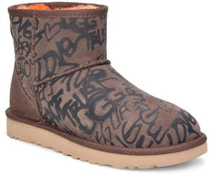 UGG Classic Mini Street Graffiti Boot