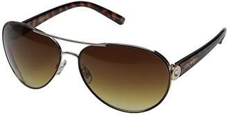 Steve Madden Women's Angelica Polarized Aviator Sunglasses
