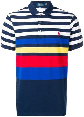Ralph Lauren block stripe polo shirt