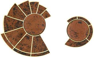 Monica Sordo Nautilus Earfan Asymmetric earrings