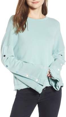 Splendid Snap Bell Sleeve Pullover
