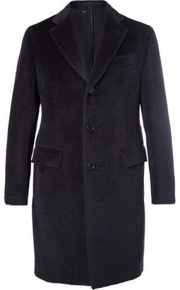 Brioni Slim-Fit Baby Llama And Virgin Wool-Blend Overcoat