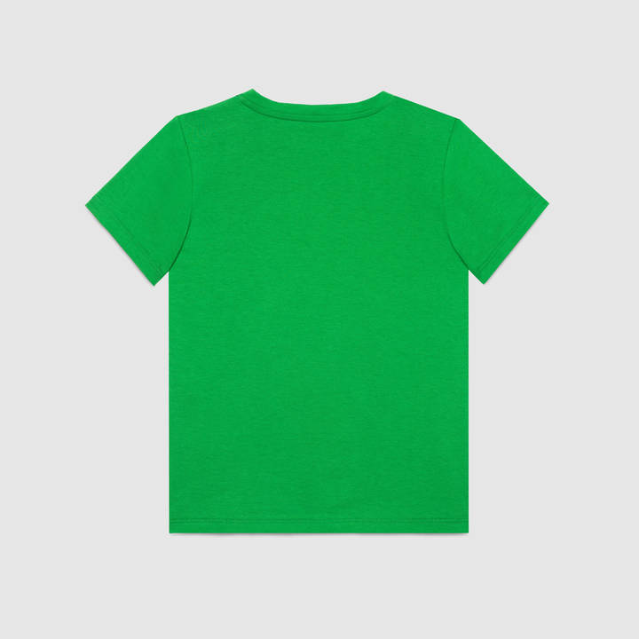 "Children's cotton t-shirt with ""Modern Future"" print 6"