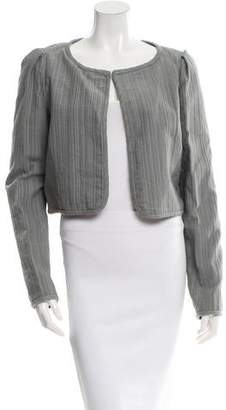Zac Posen Z Spoke by Textured Cropped Jacket w/ Tags