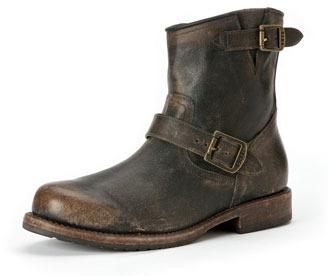 Frye Wayde Leather Engineer Boot, Dark Brown