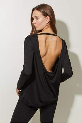 Great Plains Silk Jersey Low Scoop Back Top