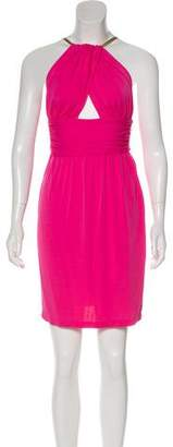 Celine Crepe Mini Dress