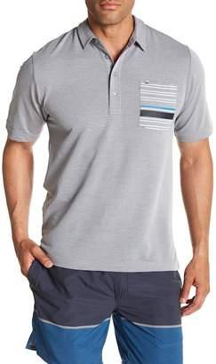 Travis Mathew Maravilla Stripe Pocket Polo