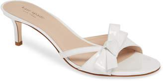8cff6c5d3d05 Kate Spade Simona Bow Slide Sandal