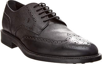 Tod's Classic Derby Leather Brogue