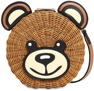 Moschino Teddy Midollino Shoulder Bag