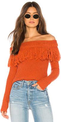 Tularosa Fringe Sweater