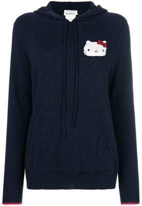 Hello Kitty Chinti & Parker patch hooded sweater