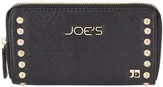 Joe's Jeans Casanova Zip Around Wallet With Studs