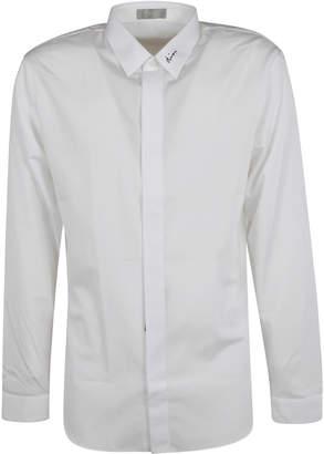 Christian Dior Logo Collar Shirt