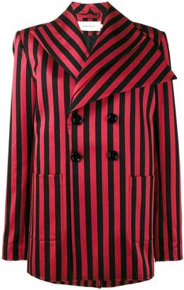 Marques Almeida Marques'almeida striped double breasted blazer