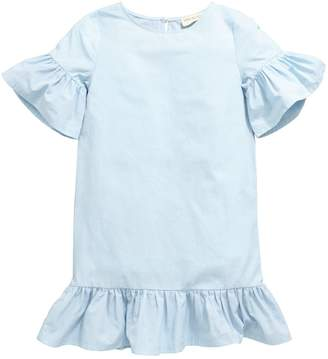 Very PRETTY FRILL BLUE DRESS