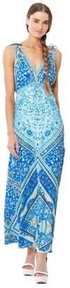 Hale Bob Zuri Rayon Woven Maxi Dress