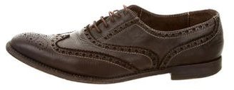 Paul Smith Wingtip Leather Oxfords $65 thestylecure.com