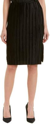 J.o.a. Pleated Pencil Skirt