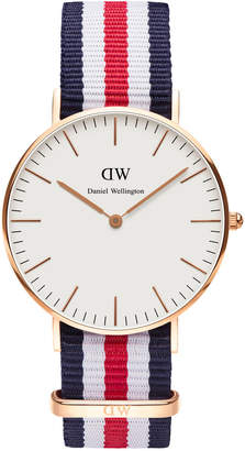 Daniel Wellington Classic Canterbury 36mm Rose Gold Watch