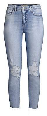 L'Agence Women's El Matador Distressed Skinny Jeans
