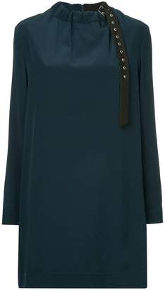 Tibi colour block shift dress