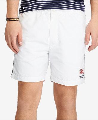 """Polo Ralph Lauren Men's 6"""" Polo Swim Trunks $65 thestylecure.com"""