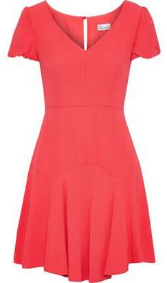 RED Valentino Flared Crepe Mini Dress