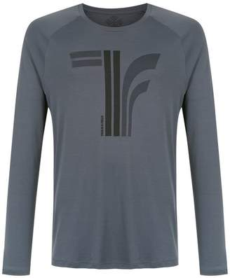 Track & Field printed long sleeved t-shirt
