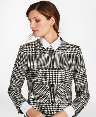 Brooks Brothers Glen Plaid Wool Twill Jacket