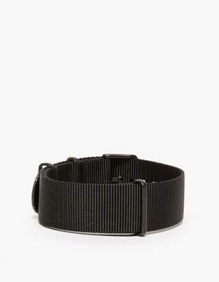 Tid Black Nylon Wristband