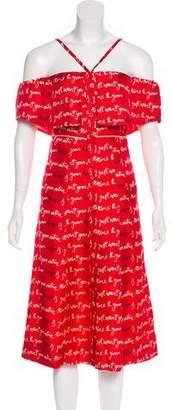 Piamita Printed Midi Dress