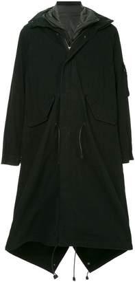Yohji Yamamoto long length military coat