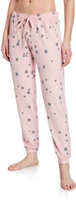 PJ Salvage Allover Star-Print Jogger Pants