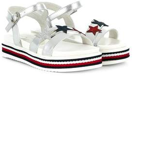 b0076c7cf5c6 Tommy Hilfiger Junior star embellished sandals