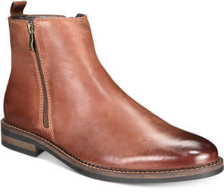 Alfani Men's Aspenn Double-Zipper Boots, Created for Macy's Men's Shoes