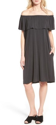 Women's Nic+Zoe Boardwalk Convertible Jersey Dress $138 thestylecure.com